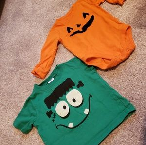 Halloween Gymboree Shirt/Carter's Onsie